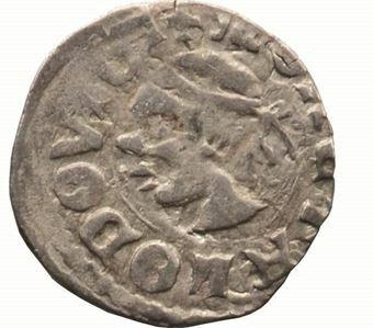 Picture of Hungary, Louis I 'Saracen Head, Silver Denar GVF