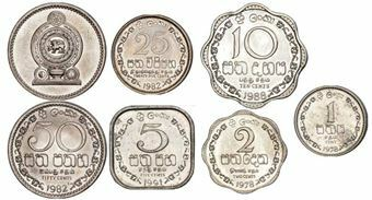 Picture of Sri Lanka 6 Coin Mint Set