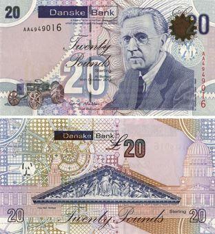 Picture of N Ireland Danske Bank £20 2012 P213 Unc