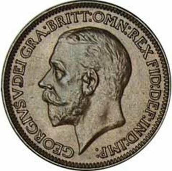 Picture of George V, Farthing, 1936 Uncirculated