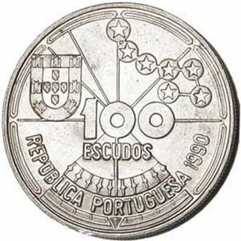 Picture of Portugal, 100 Escudos Celestial Navigation
