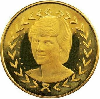 Picture of Charles & Diana Engagement Medal GM