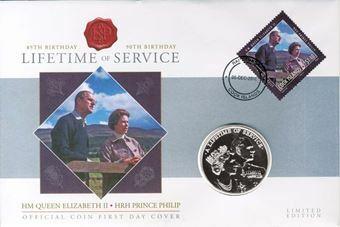 Picture of Elizabeth II, Niue / Cook Islands FDC