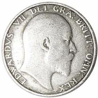Picture of Edward VII, Shilling Very Good