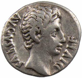 Augustus AR Denarius_obv