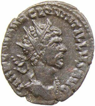 Quintillus_AE_Antoninianus_FORTVNA REDVX_obv