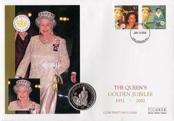 Picture of Golden Jubilee Crown Cover Sierra Leone/Grenada