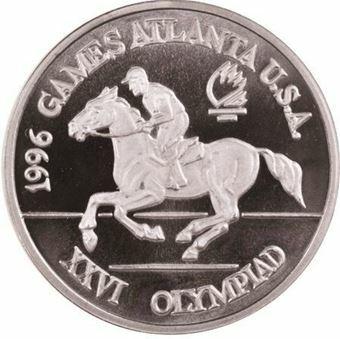 Picture of Romania, Pattern Equestrian Aluminium Piedfort