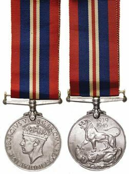 Picture of World War II 1939-45 British War Medal