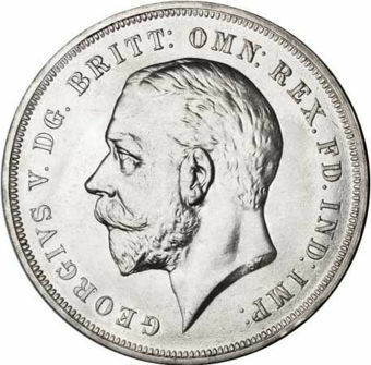 Picture of George V, Crown 1935 (Silver Specimen) Prooflike