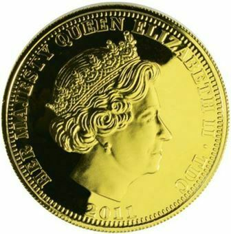 Picture of Tristan da Cunha 2011, Proof Crown