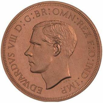 Picture of Australia, Edward VIII, Long Legend Copper