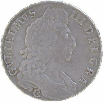 Picture of William III, Halfcrown 'C' Chester GVF, 1697