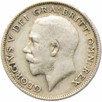 1921_Sixpence_Obv