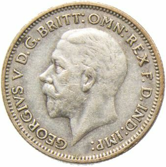 1933_Sixpence_Obv