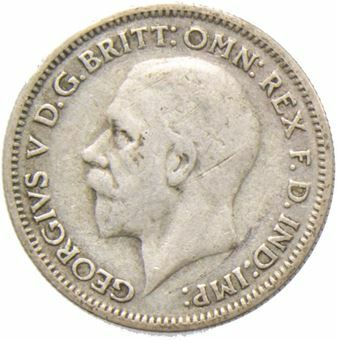 1932 Sixpence_Obv