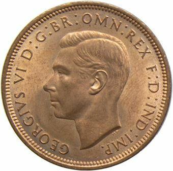 1937-48 Halfpenny_obv