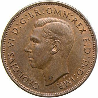 1937-48 Penny_Obv