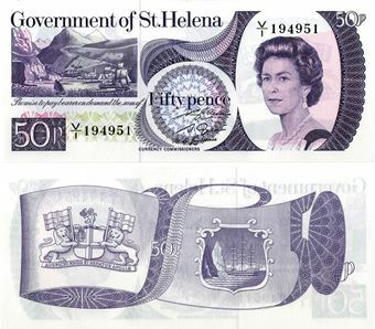 Picture of St. Helena, 50 pence P5 Unc