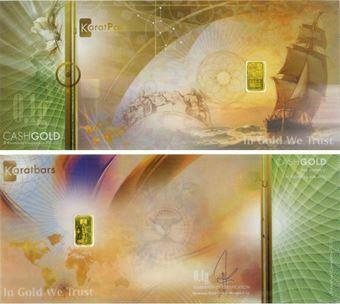 Cashgold 0.1g In Gold We Trust