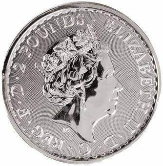 2020 £2 Britannia (Year of Rat Privy Mark)