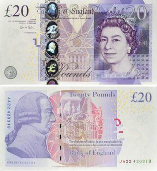 £20 B409 Unc