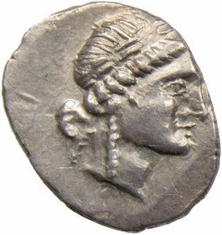 Lycian League. Lycia, Phaselis. Ca. 100-88 B.C. AR Drachm_rev