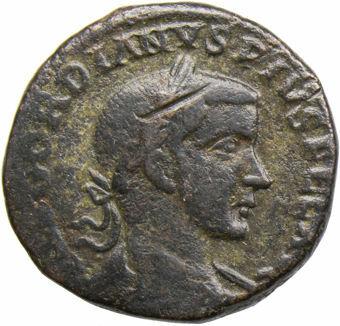 Picture of Gordian III. A.D. 238-244. Moesia Superior, Viminacium. Æ 30.