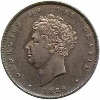 Gerorge IV_1826_Shilling_Obv