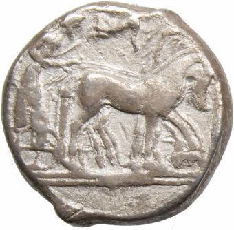 Sicily_Syracuse_Tetradrachm_485-478_BC_rev