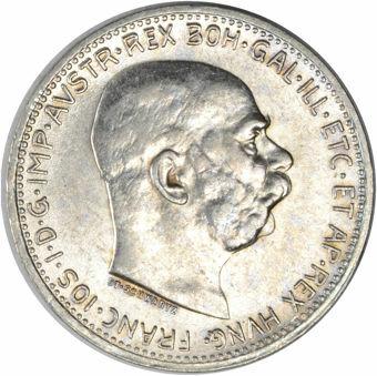 Picture of Austria-Hungary, 1 Korona Choice Uncirculated