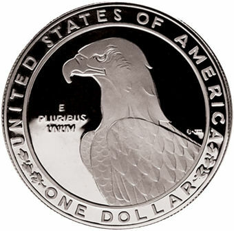 Picture of United States of America, 1983 Dollar Olympics Silver Proof