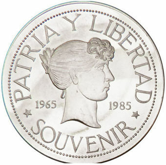 Picture of Cuban, Souvenir Peso (1965-1985) Type 1