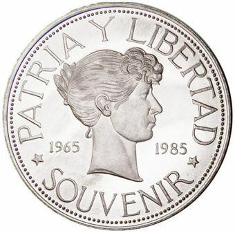 Picture of Cuban, Souvenir Peso (1965-1985) Type 2