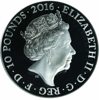 Picture of Elizabeth II, (90th Birthday) £10 2016 Proof 69