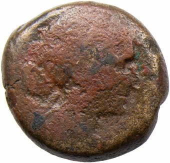 Egypt. CLEOPATRA VII. 51-30 B.C. Alexandria. Æ 80 Drachma_obv