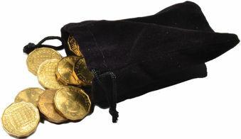 1967 Brass Threepence bag