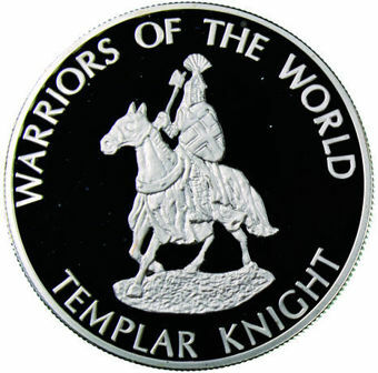 Picture of Congo, 10 Francs 2010 Templar Knight