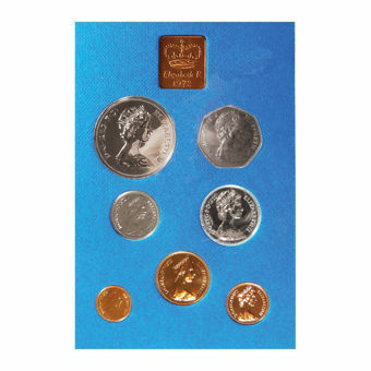 Picture of Elizabeth II, 1972 Royal Mint Proof Set