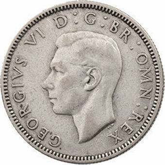 George_VI_English_Silver_Shilling_Obv