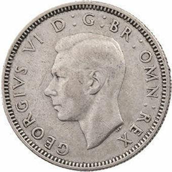 George VI_Scottish_Shiling_Obv