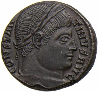 Constantine I 'the Great'_Æ 3. PROVIDENTIAE AVGG_obv