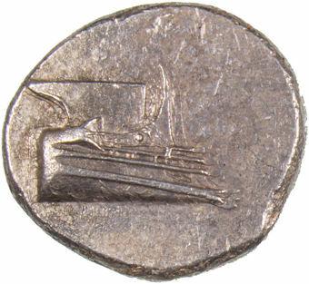 Lycia, Phaselis. Ca. 4th Century B.C. AR Stater_obv