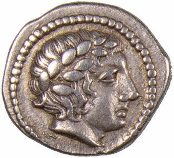 Macedon, Olynthos. Ca. 432-348 B.C. AR Tetrobol_obv