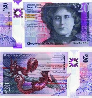 Royal_Bank_Scotland_£20_Polymer_P-New_Unc