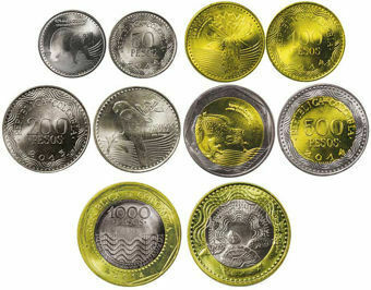 Colombia_5_Coin_Mint_Set
