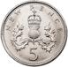 1970_Five_Pence_Rev