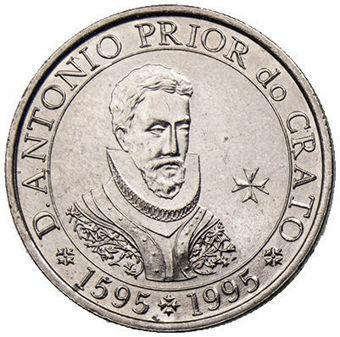 100 Escudos_400th_Anniversary_of_the_Death-of_D. Antonio Prior do Crato_obv
