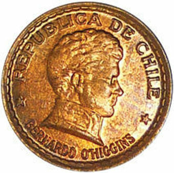 Chile_1951_10Cents_obv