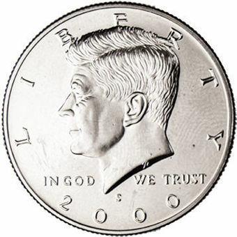 2000 Kennedy Half Dollar_Obv